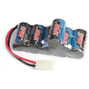 55059 Tamiya 7.2v 2700mAh Ni-mh Hump Pack 608097