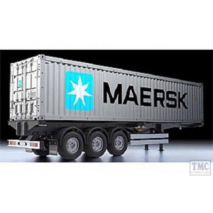 56326 Tamiya 1/14 Scale 40ft Container Semi Trailer