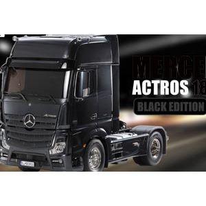 56342 Tamiya 1/14 Scale Actros Black - LTD