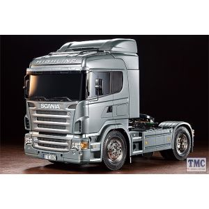 56364 Tamiya 1/14 Scale Scania R470 - Pre painted Silver