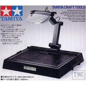 TA74064 Tamiya Work Stand w/magnifying Lens