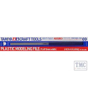 TA74069 Tamiya Modelling File Flat 6mm