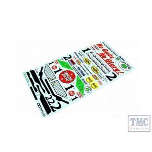 TA9400373 Tamiya STICKER FOR 58354  FROG