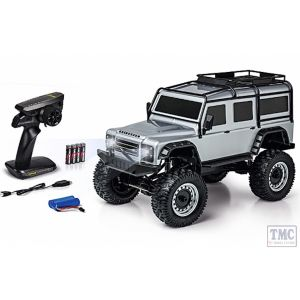 C404172 Carson RC 1:8 Land Rover Defender 100% RTR silver