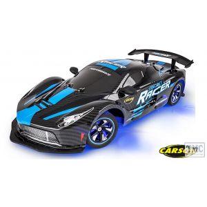 C404219 Carson RC 1:10 Night Racer 2.4GHz 100% RTR blue