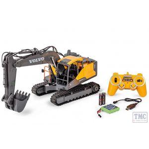 C907339 Carson RC 1:16 Excavator Volvo 2,4 GHz 100% RTR