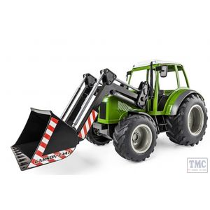 C907347 Carson RC 1:16 RC Tractor w. font loader 2.4G 100%