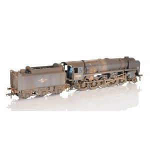 32-859Z Bachmann OO Gauge 9F 2-10-0 No. 92000 BR Black Late Crest TMC Limited Edition