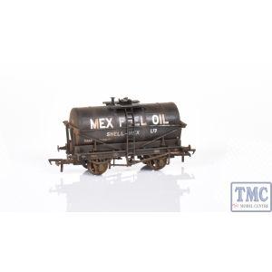 37-675W Bachmann OO/HO Gauge 14T Tank Wagon Black Mex Fuel Oil Weathered by TMC (Pre Owned)