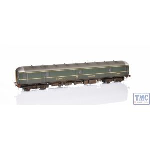HEL89011 Heljan OO Scale Class 128 W55992 BR Green, yellow gangways doors covers, weathered by TMC (Pre Owned) (Lights not worki