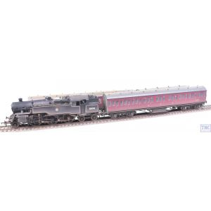 SPECIAL OFFER OO Gauge Std 4MT 2-6-4T & Train Pack -Cycling Tour 2- Huge Price Reduction