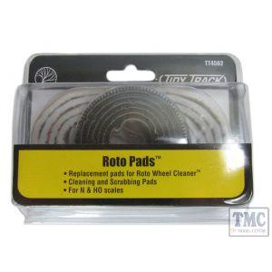 TT4562 Woodland Scenics Tidy Track Roto Pads (N/OO Gauge)