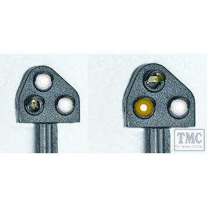 TTGK4 Train Tech OO/HO Gauge Ground Position Signal Kit - Original Yellow