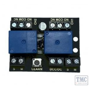 TTRL1 Train Tech Twin Channel Relay Controller For DC/DCC
