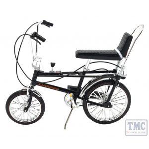 TW41601 1:12 Scale Chopper Mk 1 Bicycle - black Toyway