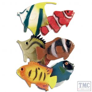 TW49808 Toyway  World of Nature Tropical Fish (6's)