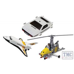 TY99283 Corgi James Bond Collection (Space Shuttle, Little Nellie, Lotus Esprit)