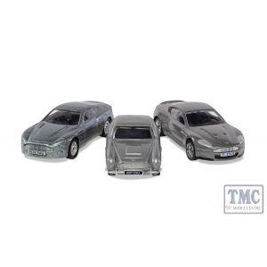 TY99284 Corgi James Bond Aston Martin Collection (V12 Vanquish, DB5, DBS)