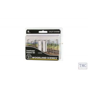 US2252 Woodland Scenics N Scale Transformer Connect Set