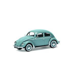 VA01208 Corgi 1:43 Scale Volkswagen Beetle- Type 1 Export Saloon - Horizon Blue