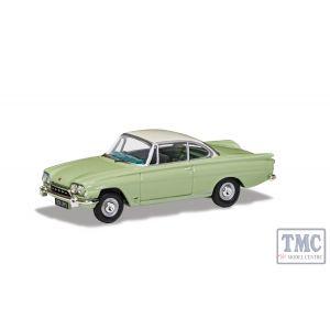 VA03407 Corgi 1:43 Scale Ford Consul Capri 335 (109E) - Lime Green & Ermine White