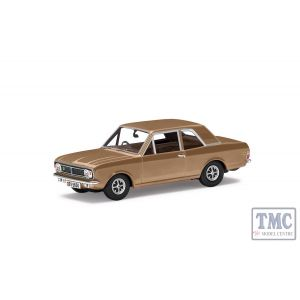 VA04119 Corgi 1:43 Scale Ford Lotus Cortina Mk2 Amber Gold Colin Chapmans Car