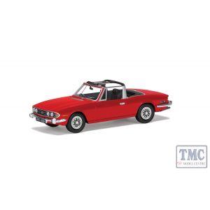 VA10113 Corgi 1:43 Scale Triumph Stag Mk1 Signal Red