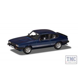 VA10821 Corgi 1:43 Scale Ford Capri Mk3 2 S Colbalt Blue