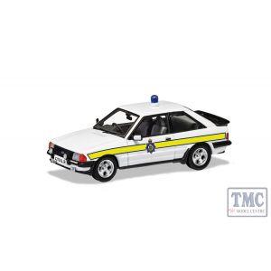 VA11012 Corgi 1:43 Scale Ford Escort Mk3 XR3i - Durham Constabulary