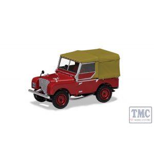 "VA11118 Corgi 1:43 Scale Land Rover Series 1 80"" - Poppy Red"