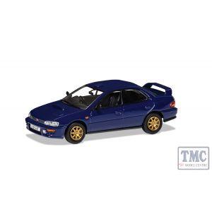 VA12107 Corgi 1:43 Scale Subaru Impreza WRX STi V2 555 - Saltire Blue