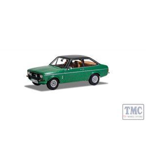 VA12618 Corgi 1:43 Scale Ford Escort Mk2 1 3 Ghia Green