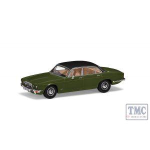 VA13902 Corgi 1:43 Scale Jaguar XJ12 Series 2 LWB - Juniper Green