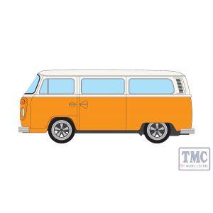 """VA14600 Corgi 1:43 Scale Volkswagen Type 2 Bay Window Devon """"New Moonraker"""" Marino Yellow and Pastel White"""