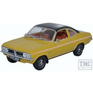VF004 Oxford Diecast O Gauge Vauxhall Firenza Sport SL Sunspot
