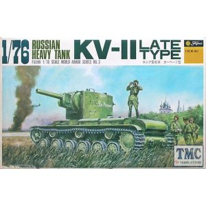 Fujimi Russian Heavy Tank KV-II Kit No WA3 (Pre owned) (Part Built)