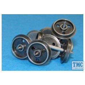 WHEELSDISC Dapol OO Gauge 12mm Disc Wheels Pack of 20