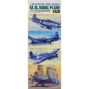 Fujimi 1/700 Water Line Series U.S Naval Plane Kit No 150 (Pre owned)
