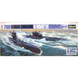 Hasegawa German Submarine U-Boat VIIC/IXC Kit No WL-S126 1:700 (Pre owned)