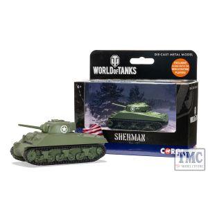 WT91202 Corgi World of Tanks - Sherman M4 A3