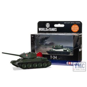 WT91208 Corgi World of Tanks T34