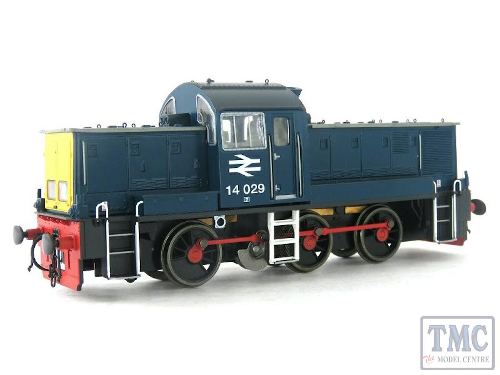 HEL1401 Heljan OO Gauge Class 14 14029 BR Blau (Pre-Owned)