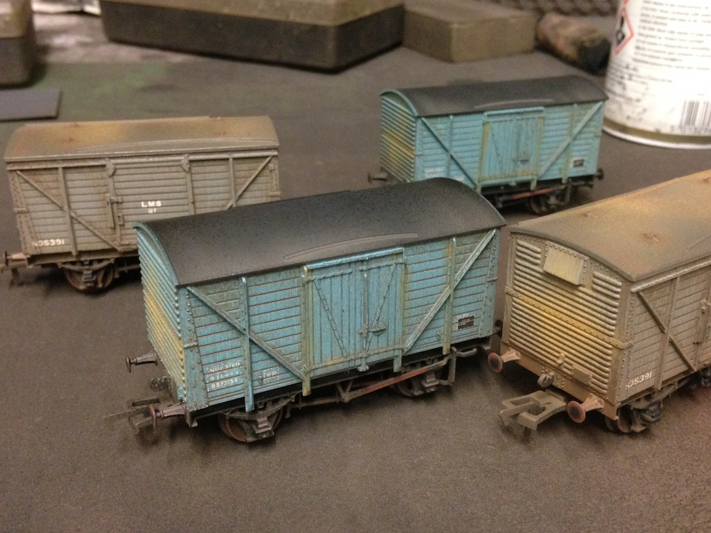 Bachmann Wagons Weathered By TMC