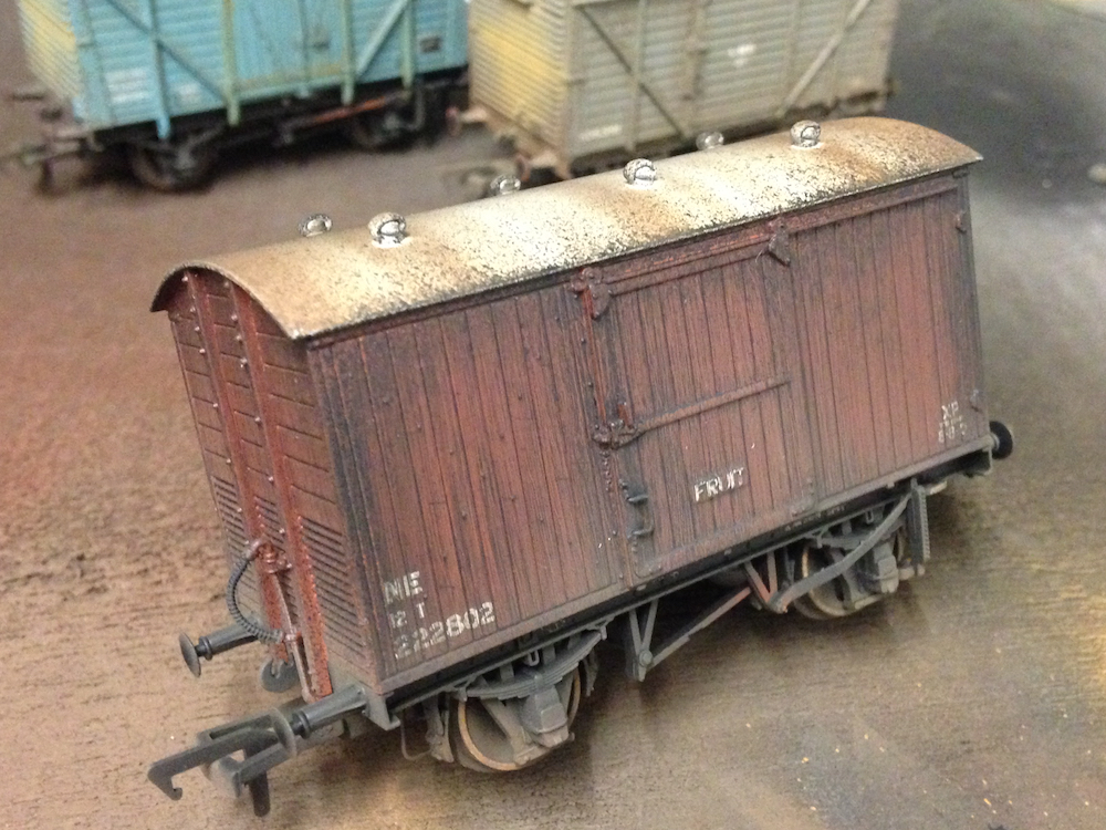 Bachmann Fruit Van Weathered By TMC
