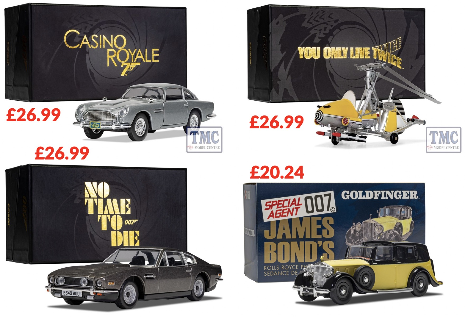Corgi James Bond