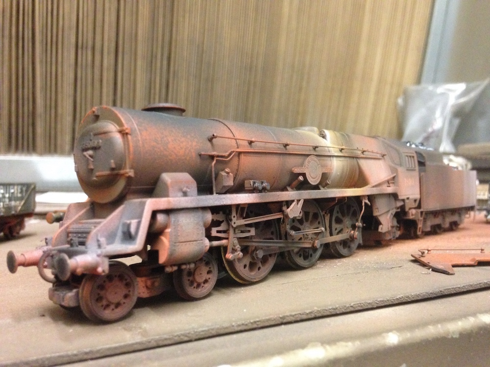 Scrap Loco Weathered by TMC