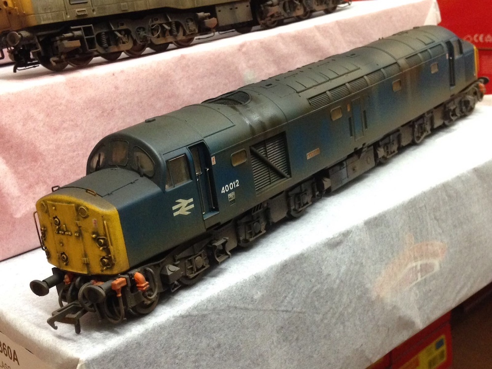 Class 40 Weathered by TMC to Pictures