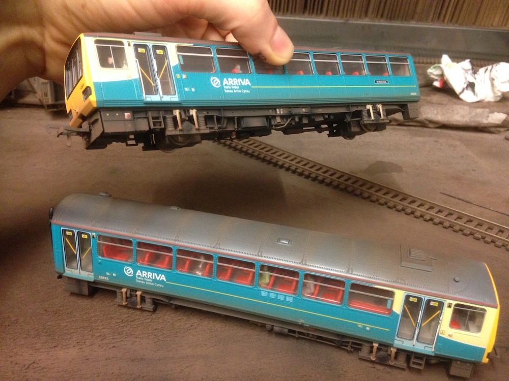 Arriva Trains Wales Pacer Weathered by TMC