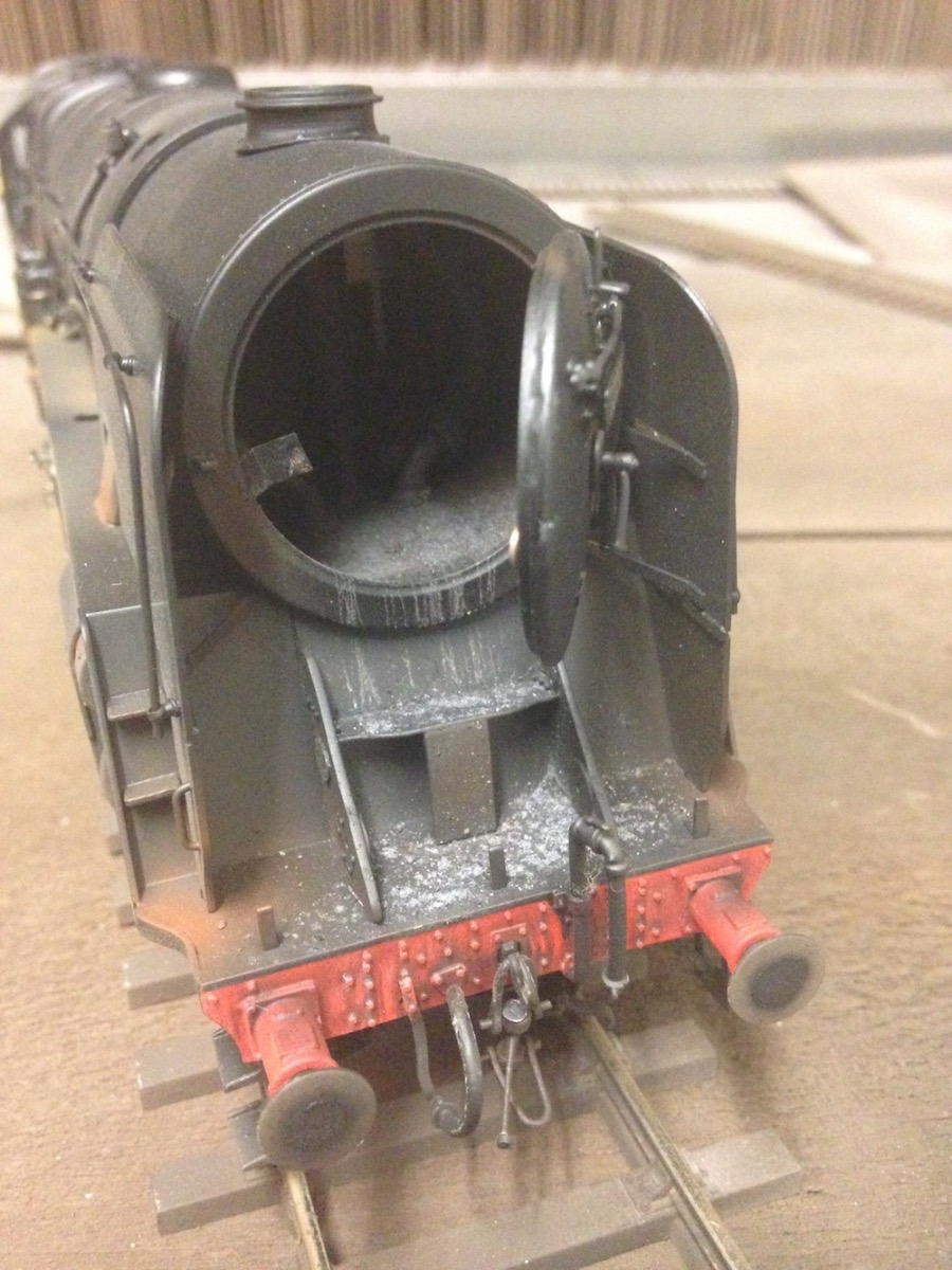 Deluxe Weathered O Gauge 9F With Ash Runs