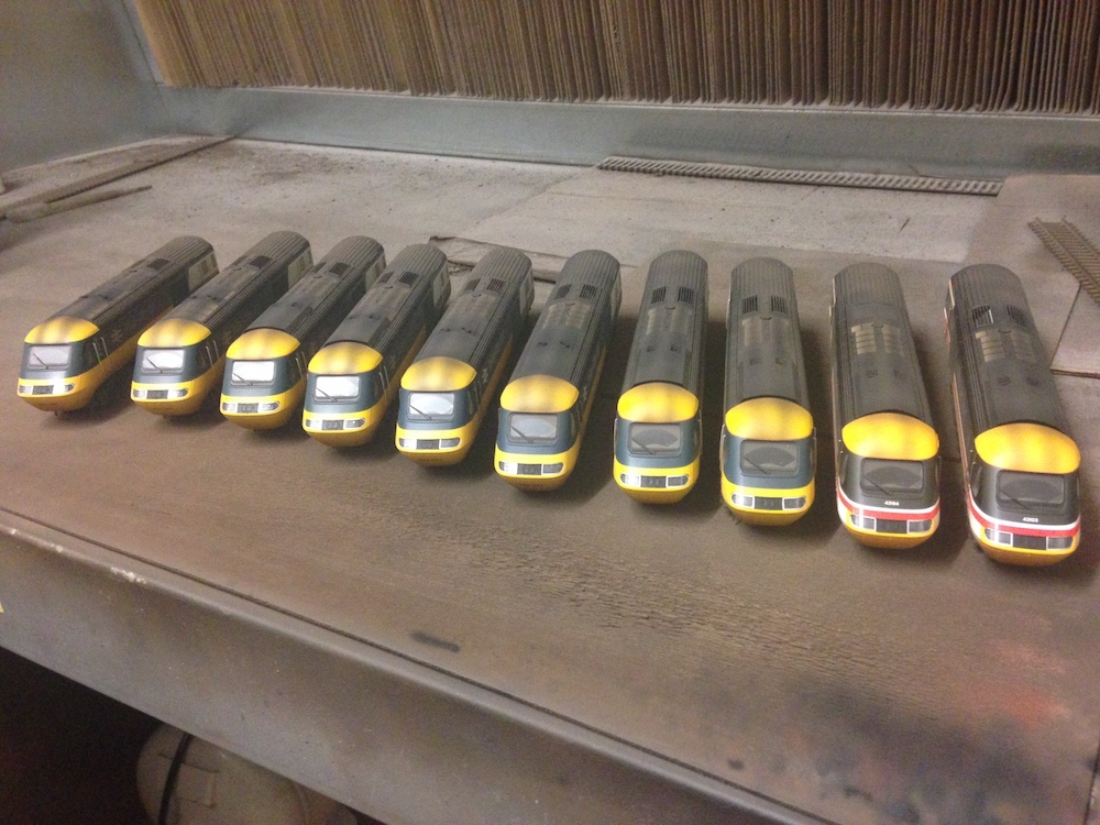 Batch of Class 43 HSTs Weathered by TMC